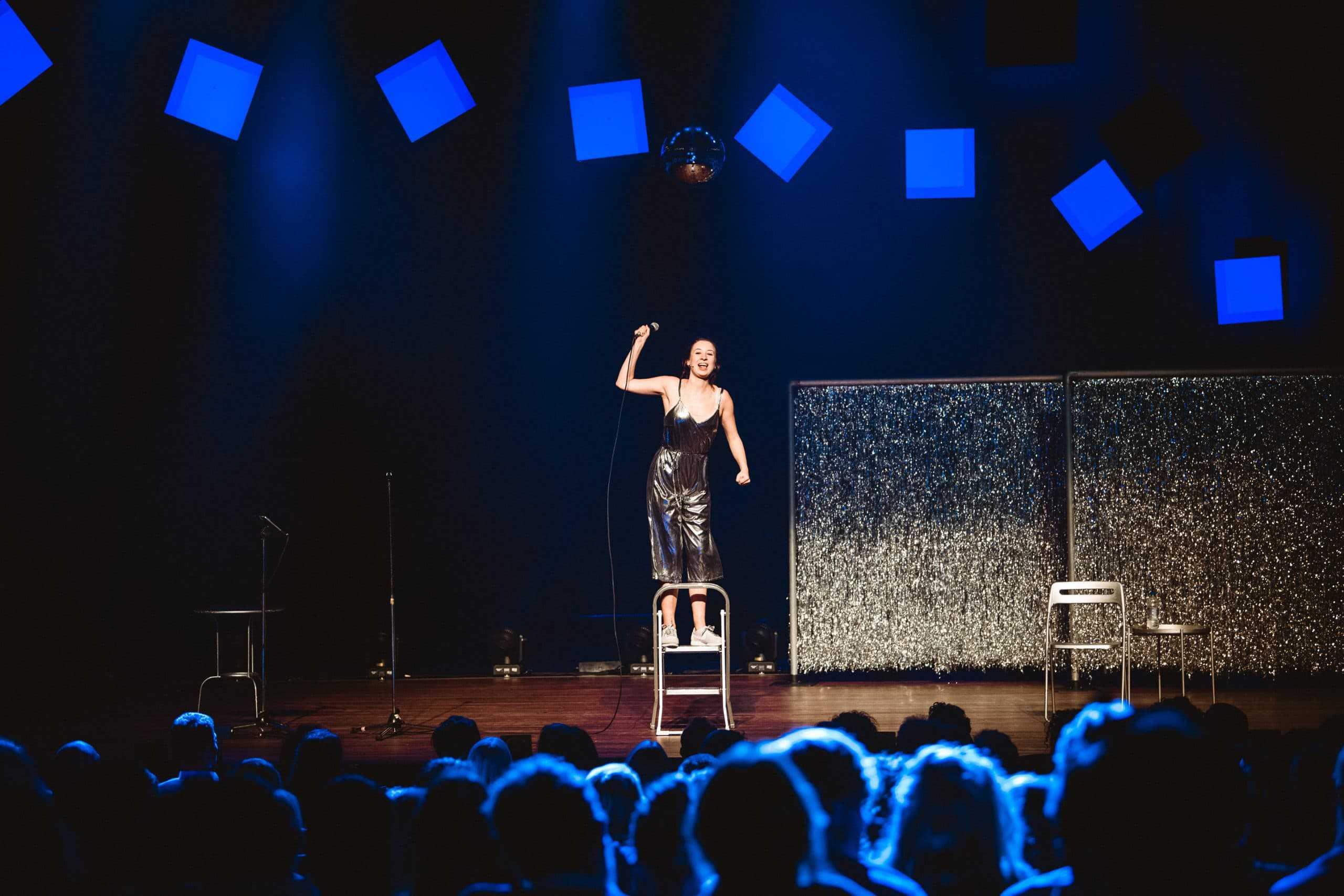 portfolio foto van het groninger studenten cabaret festival