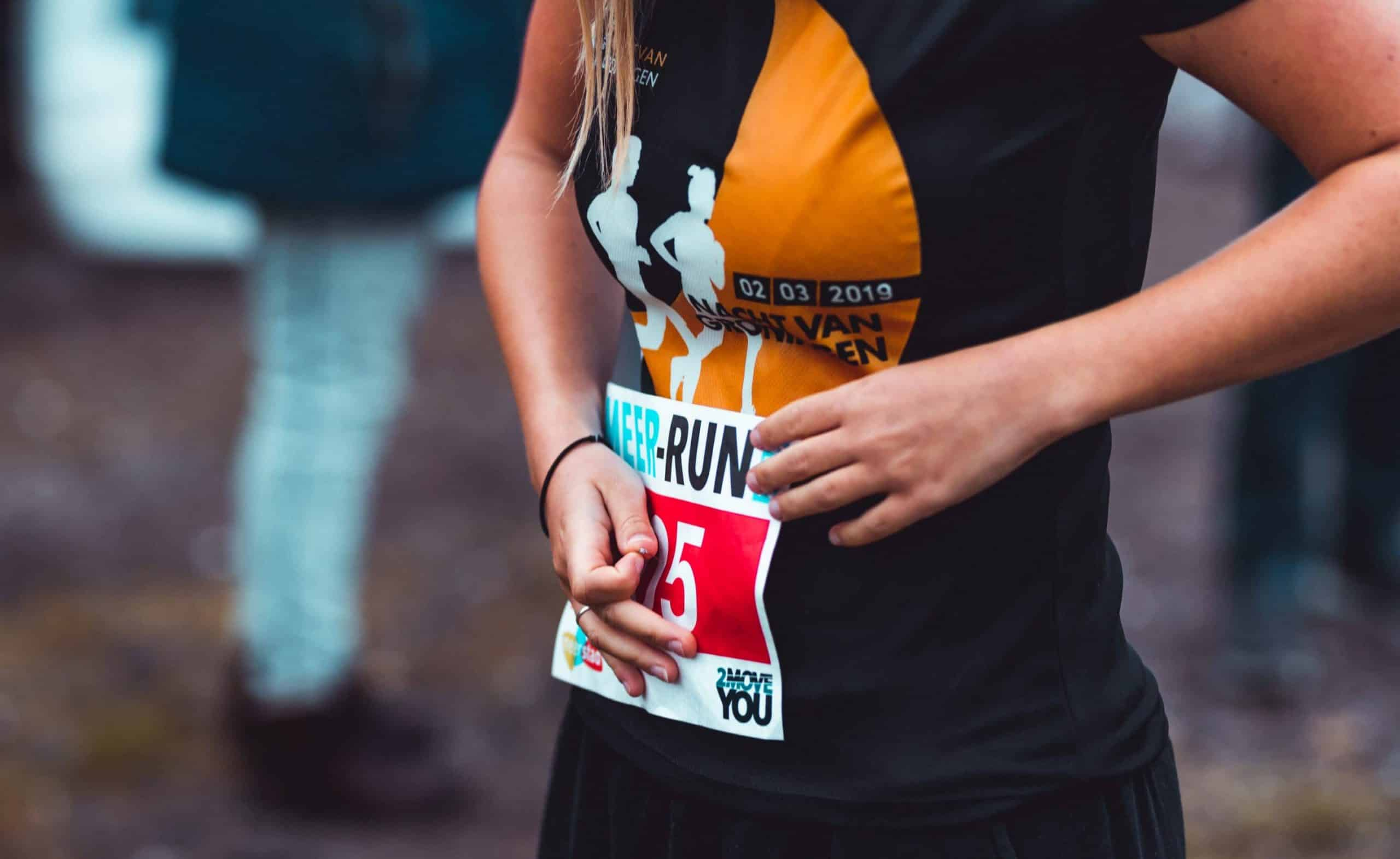 sportfotografie voorbeeld Meer-run