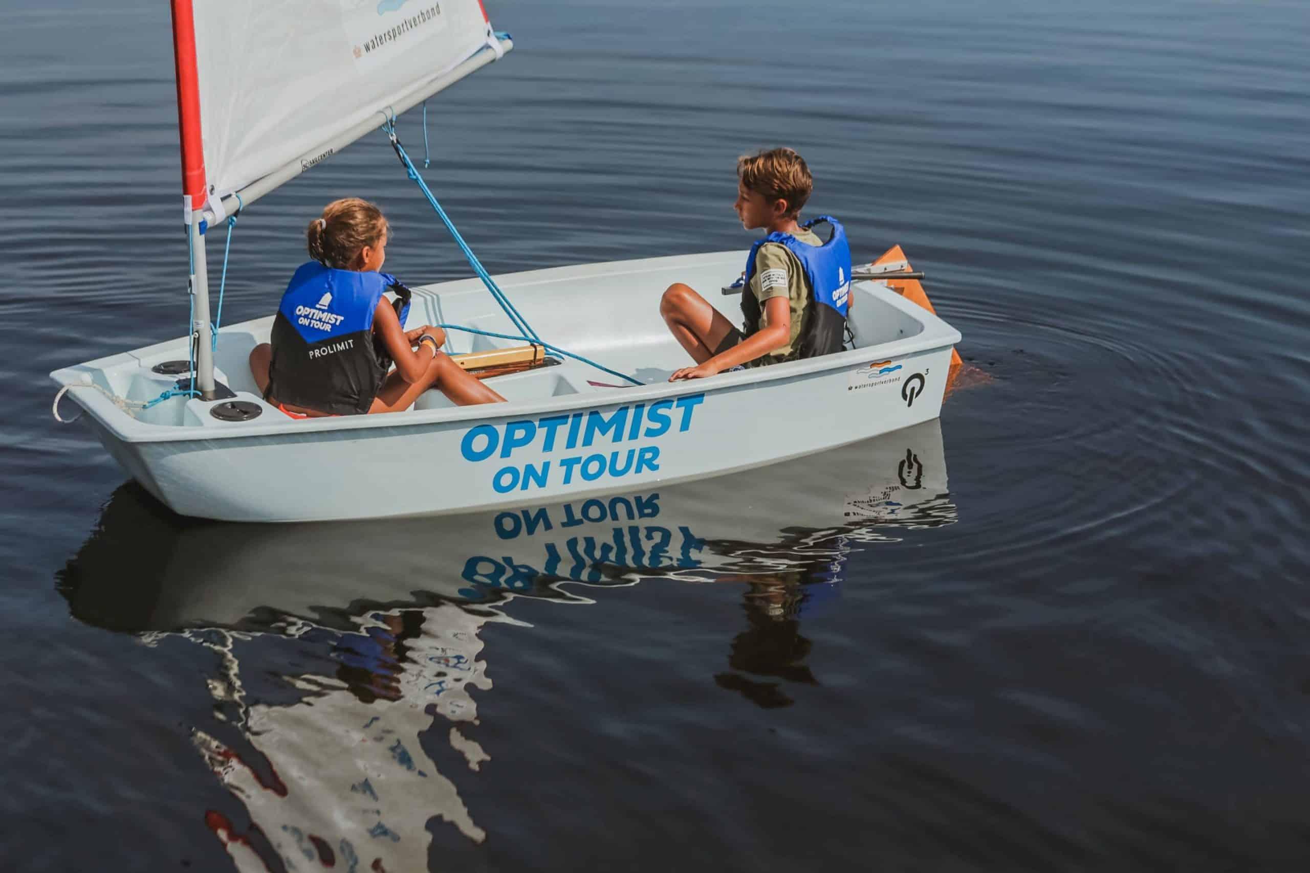 optimist on tour in Meerstad