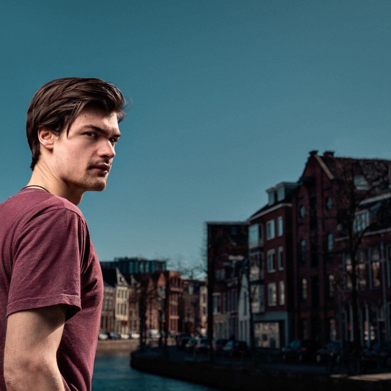 Portretfoto brugstraat Groningen