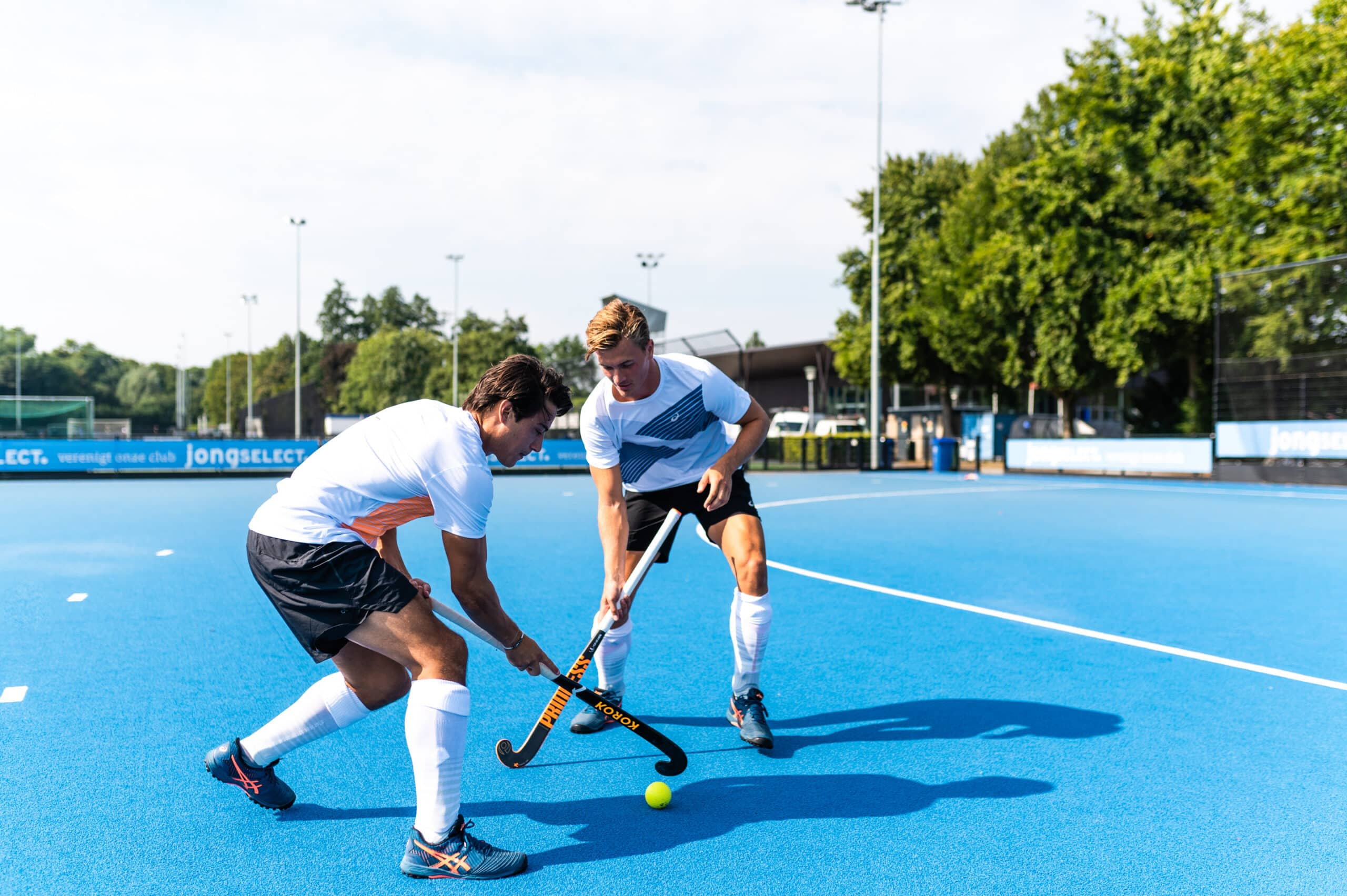 portfolio foto ASICS field hockey