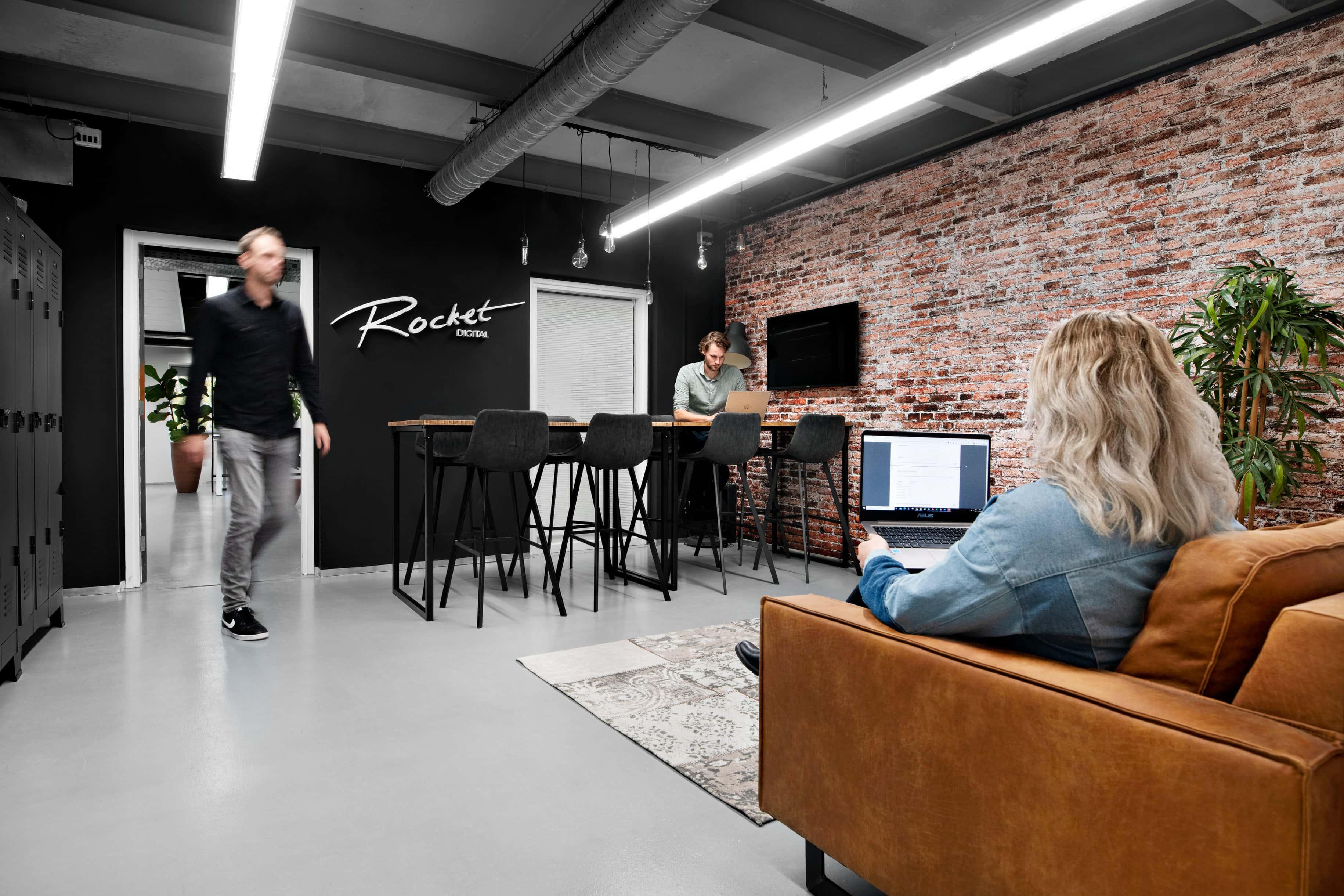 bedrijfsfotografie voor rocket digital